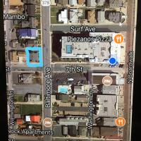 local map of apartment surroudings