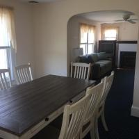 dining table with seating for 8