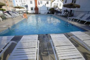 outdoor pool amd deck chairs